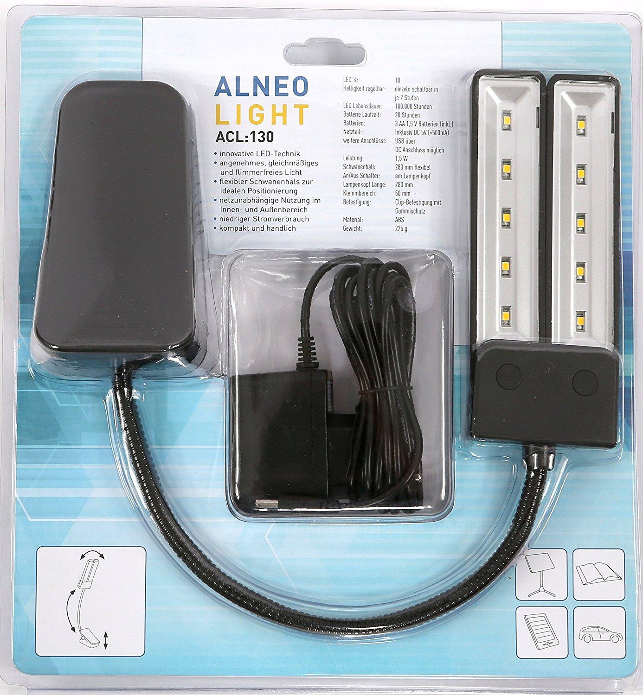 alneo_light_nooky_cl130_clip_notenpult_notenst_nder_buch_lese_leuchte_lampe_licht_8_1_1 Verwunderlich Led Lampe Mit Batterie Dekorationen